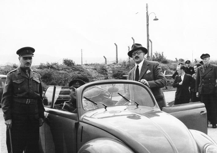 """Ivan Hirst, le """"sauver"""" de la Beetle et de Volkswagen"""
