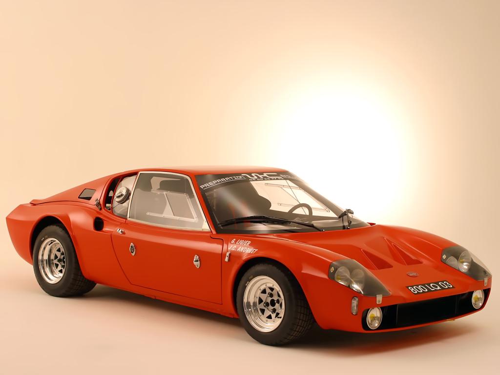 La Ligier JS1 à moteur Ford donnera naissance à la JS2 à moteur V6 Maserati