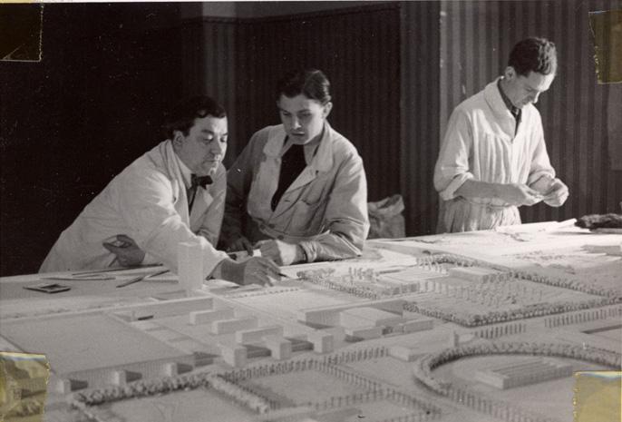 Maquette de la KdF Stadt 1938