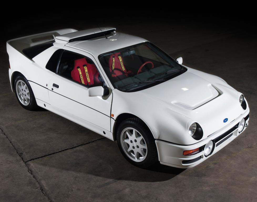 Une RS200 Evolution, sans bandes bleues