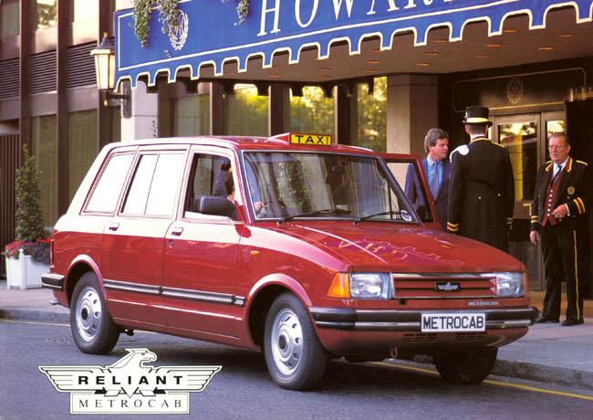 A partir de 1989, Metrocab appartien à Reliant