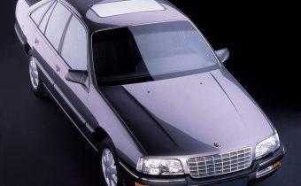 """Opel Senator B : le haut de gamme façon """"blitz"""""""