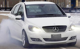 Mercedes B55 V8 : la B et la bête