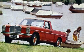 Mercedes 220D W115 : un pick-up à l'étoile pour les Gauchos