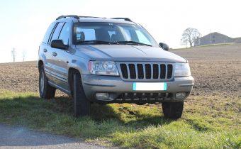 Caisse de lecteur: la Jeep Grand Cherokee Limited V8 de Pierre