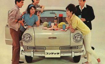 Hino Contessa : une japonaise aux origines françaises