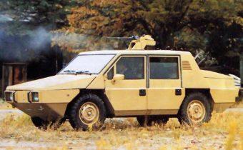 OTO Melara Gorgona R 2.5 : tellement plus chic que le Hummer