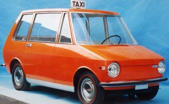 Fiat 850 City Taxi : 15 brevets pour un taxi