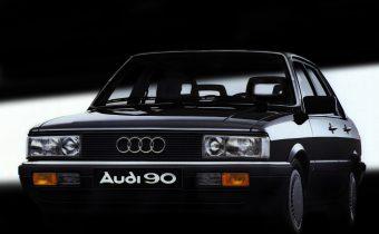 Audi 90 «I» : à peine un demi quinquennat