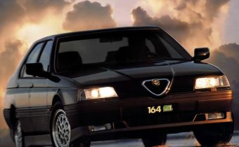 Alfa Romeo 164 Q4 : vitrine milanaise