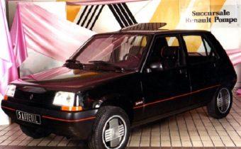 Renault 5 Laurence, De Ville et Supercinq Auteuil : les ancêtres des Baccara