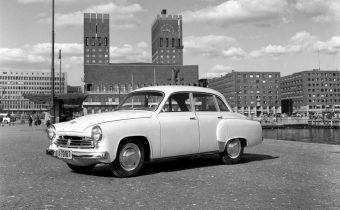 Wartburg 311 et 312 : l'Amérique vue par la RDA