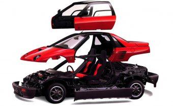 Mazda/Autozam AZ-1 et Suzuki Cara : kei car de sport