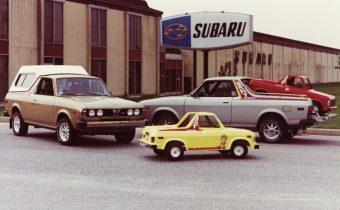Subaru BRAT : un pick-up au goût de poulet