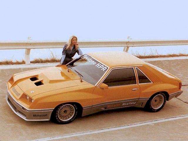 Ford McLaren M81 Mustang : un drôle de poney