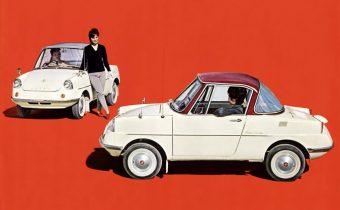 Mazda R360 Coupé : l'adorable première petite Mazda à 4 roues