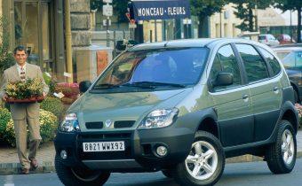 Renault Scenic RX4 : l'éphémère baroudeur
