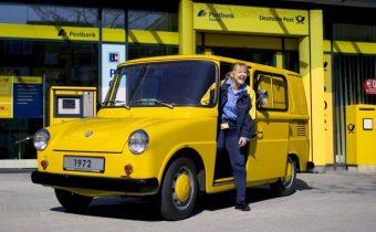 Volkswagen Typ 147 Kleinlieferwagen : le Fridolin de la Deutsche Post