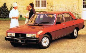 Peugeot 604 : apprentissage difficile pour la grande berline sochalienne