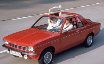 "Opel Kadett C Aero : un ""targa"" signé Baur"
