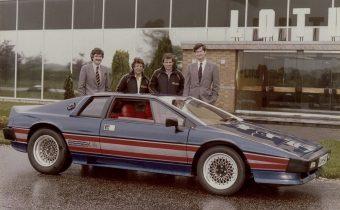Lotus Esprit Turbo Essex: le fruit d'une liaison dangereuse