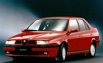 Alfa Romeo 155 Q4 : un trèfle au coeur de Delta