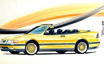 Saab 9000 Fivebow: le cabriolet 9000 mort né