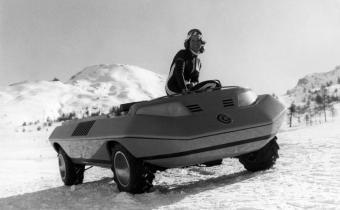 Suzuki Bertone Go : le Zodiac sur roues