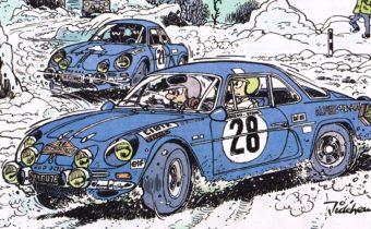 Les Chroniques de Starter : le journalisme automobile dessiné par Jidéhem