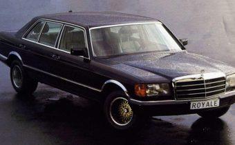SGS 600 Royale : une Mercedes W126 dopée aux hormones de croissance
