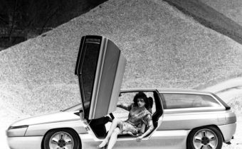 Citroën Zabrus : une BX 4TC rhabillée en diva par Bertone