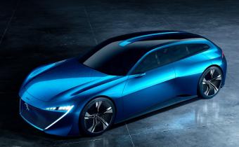 """Peugeot Instinct : le shooting brake le plus """"Boîtier Rouge"""" du monde préfigurait la 508"""