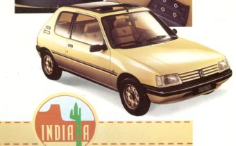 Peugeot 205 Indiana : fausse baroudeuse, vrai collector