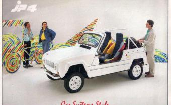 CAR Système JP4 : une Renault 4 tendance Buggy