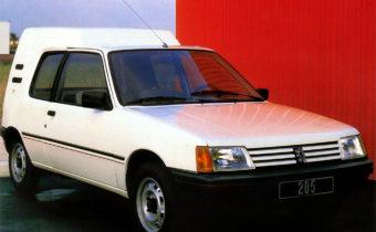 Peugeot 205 Multi et F : les raretés de l'utilitaire