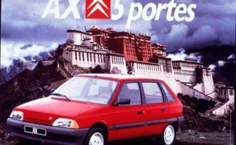 Citroën AX : la pub révolutionnaire !
