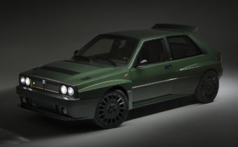 "Lancia Delta HF Futurista by Amos : ""make Lancia great again"""