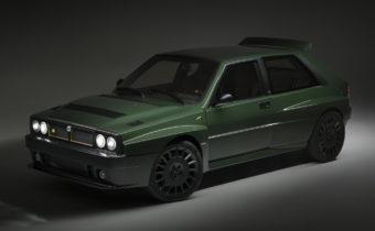 "Lancia Delta HF Futurista by Amos : ""make Lancia great again"""