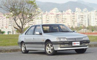Peugeot 405 : à la conquête de Taiwan