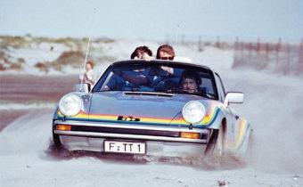 Porsche 911 Turbo BB Targa Rainbow : succès publicitaire pour Polaroid