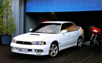 Subaru Legacy II : éclipsée par l'Impreza