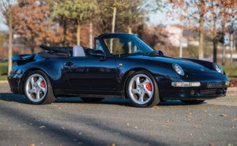 """Porsche 911 """"993"""" Turbo Cabriolet : série extrêmement limitée pour connaisseur fortuné"""