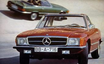 Mercedes SL et SLC (R107 et C107) : l'amour sans risque