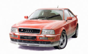 Audi S2 : pour occuper le terrain