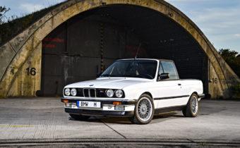 BMW M3 E30 Pick-up : un utilitaire vitaminé pour Motorsport.