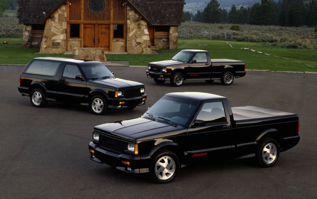 GMC Syclone and Typhoon: the first fruits of highly-sporty SUV