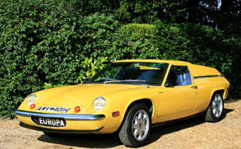 Lotus Europa : heart of Renault 16