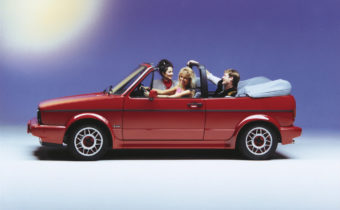 Video Trial : Volkswagen Golf 1 Convertible GLI