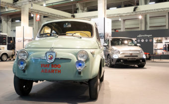 Fiat Abarth 500 Berlina Record : pour relancer la 500