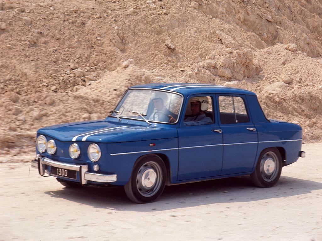 La Renault 8 Gordini de Francis : l'école du pilotage